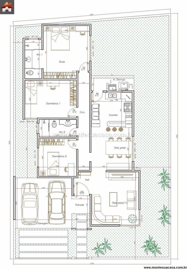 Casa 3 Quartos - 116.57m²