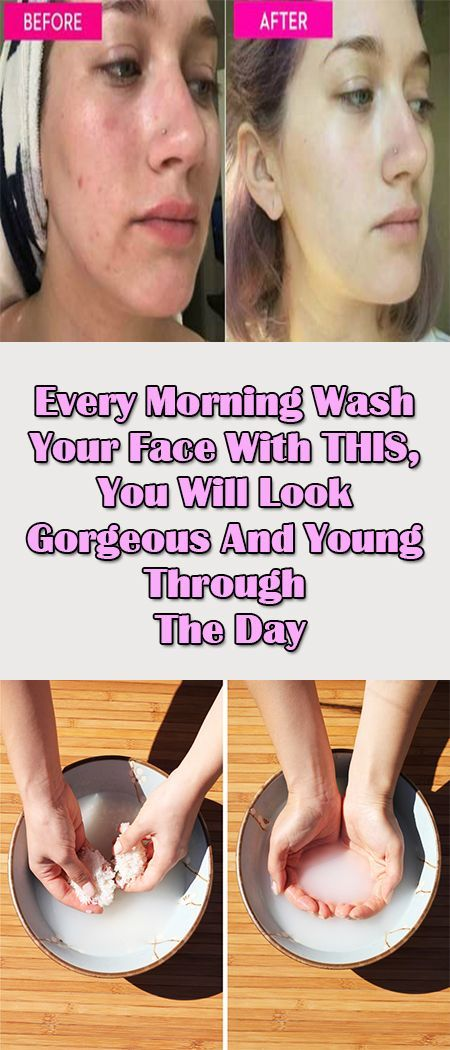 Every Morning Wash Your Face With THIS, You Will Look Gorgeous And Young Through The Day  Our facial skin in very delicate when we wake up in the morning.
