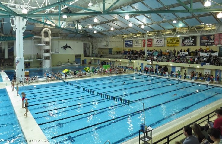 Excellent Swimming Facilities Near The School Saanich Commonwealth Pool Great Spot For The