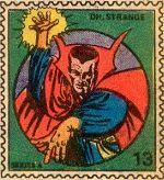 Marvel Value Stamp #13 - Dr. Strange
