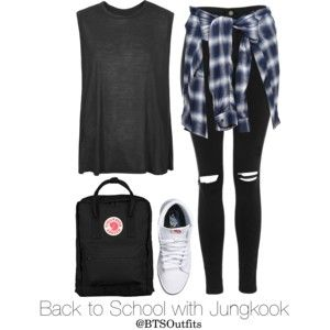 Back to School with Jungkook