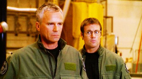 Jack O'Neill and Daniel Jackson  from Stargate SG1