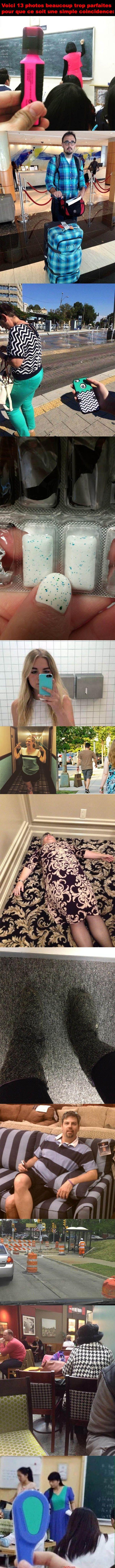 13 photos beaucoup trop parfaites pour que ce soit une simple coincidence