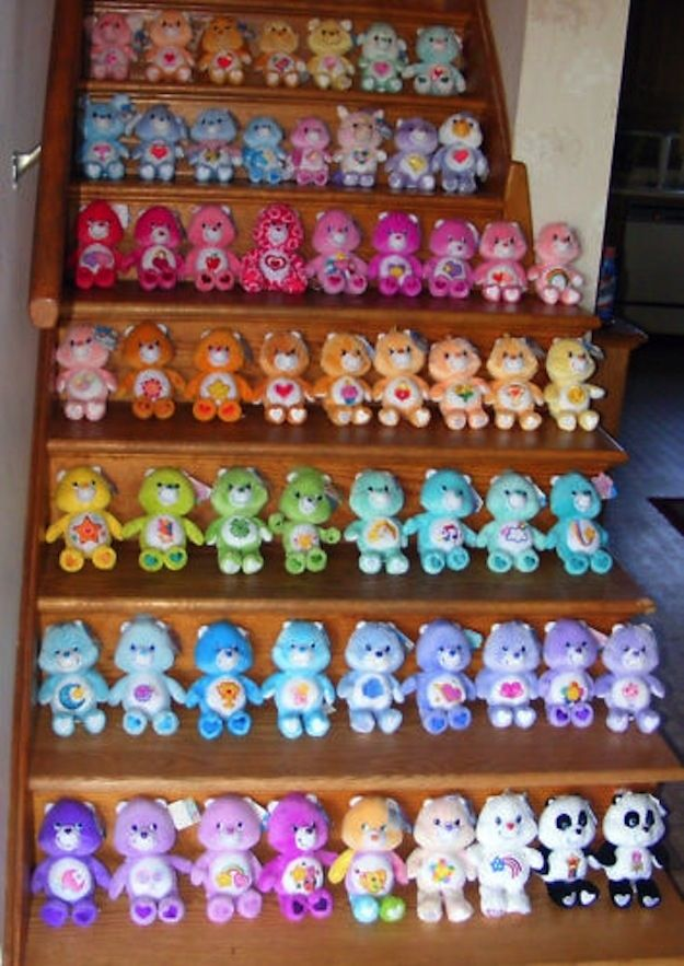 Complete Care Bears Collector Set - http://www.buzzfeed.com/leonoraepstein/28-toys-from-your-childhood-that-are-now-worth-bank