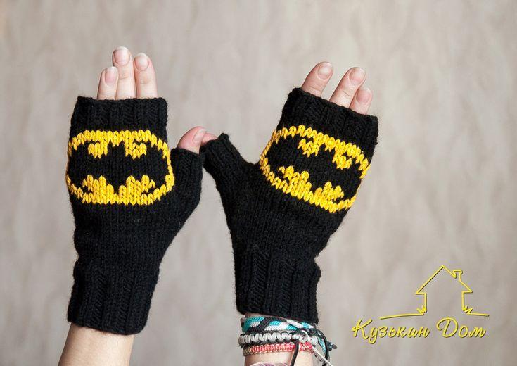 Black batman mittens by vasja-slvm.deviantart.com on @DeviantArt