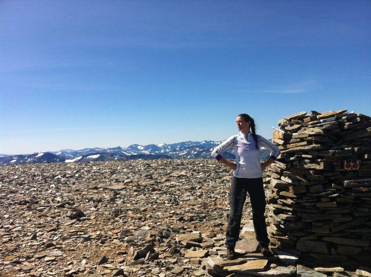 Made it to the top! #Trollhøtta. #Hiking #Trollheimen #Trollhetta #Norway