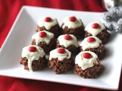 Mars Bar Christmas Crackles recipe