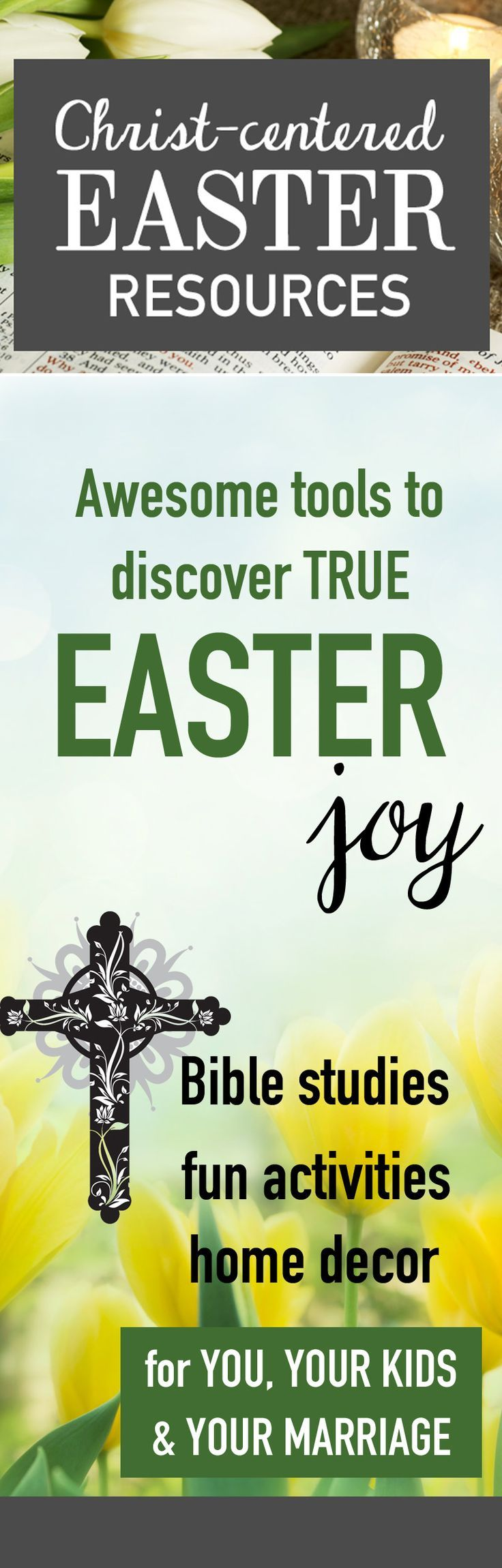 Christian easter decorations for the home - No Easter Bunny Here I Love That These Easter Bible Studies Kids Activities And