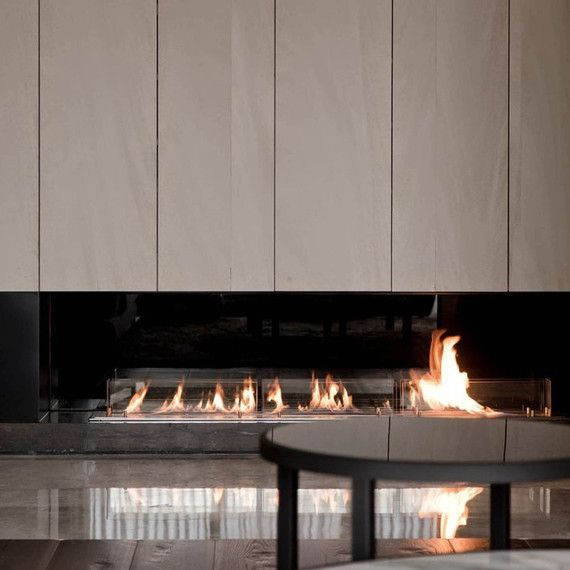 Contemporary Fireplace Ideas That Turn Up The Heat | Martha Stewart Living - Do you want to include a contemporary fireplace in your next home or upcoming renovation but don't know where to start?