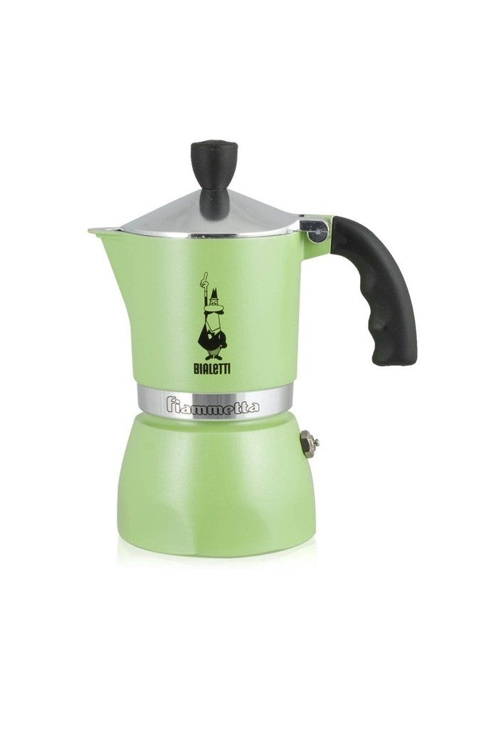 A unique coffee maker that revolutionizes the pleasure of your coffee break, bringing bright colours and modernity into the kitchen. Its distinctive lines and trendy colours brighten up the morning putting you in a good mood and surprising your guests.