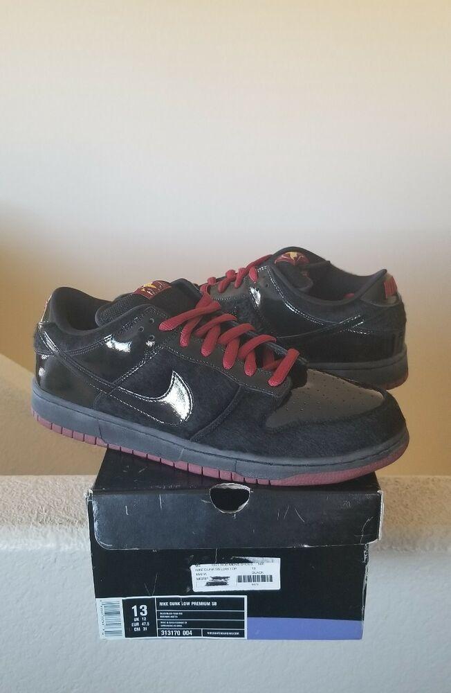 new arrival 44ec1 f4312 eBay Sponsored NEW Nike Dunk SB Low Mafia Pack black red team limited  313170-