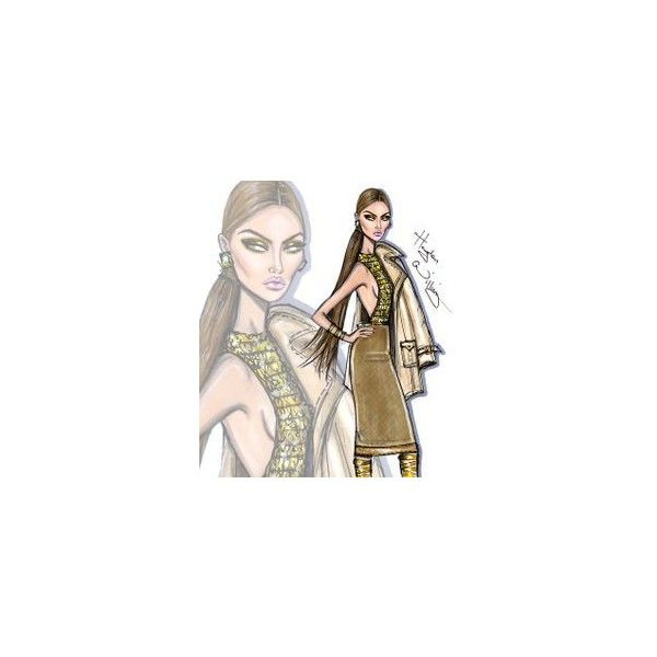 *** Fashion sketch book for my closet☆*:.。*** found on Polyvore