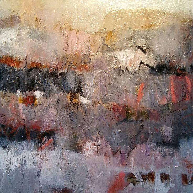 Peterwendtartist acrylic oil pencil charcoal 90cm x 100cm abstract#landscape#studio#texture#modernart#contemporary#expressionism