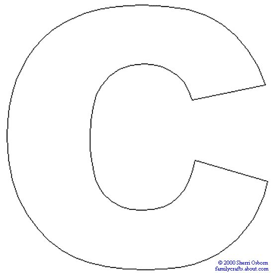 14 best letter c images on pinterest preschool letters for Letter c coloring pages printable