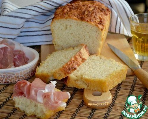 Пивной хлеб на сливочном масле - кулинарный рецепт