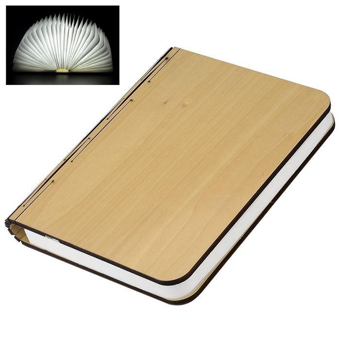 amazones gadgets Creative Folding Book Light & Novelty Lamp 2500mAh Battery 500 Lumens Up To 6 Ho: Bid: 64,55€ (£57.80) Buynow Price 64,55€…