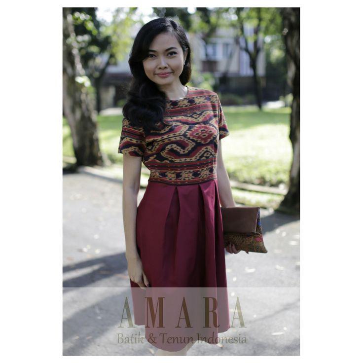Tenun Dress https://www.facebook.com/AmaraEthnicsPage/  www.amarabatik.com