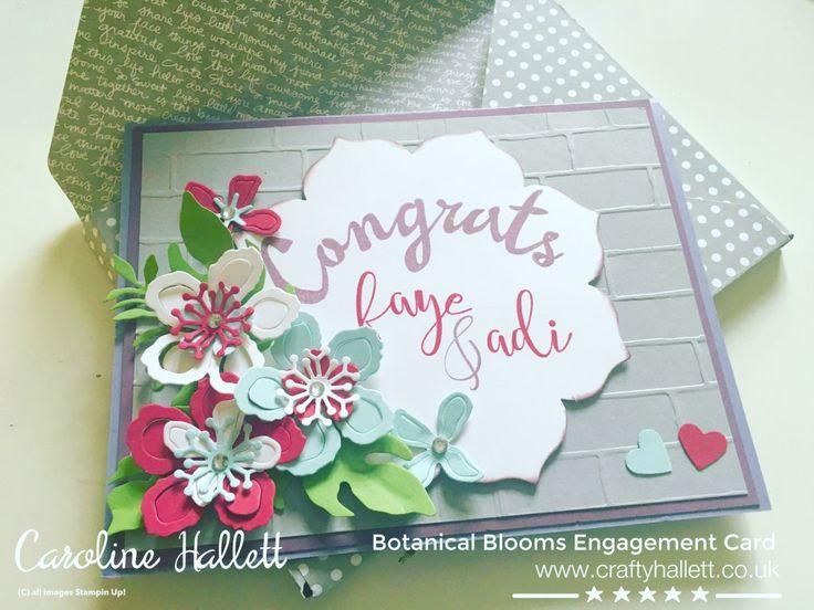 Botanical Blooms Craftyhallett Stampin UP