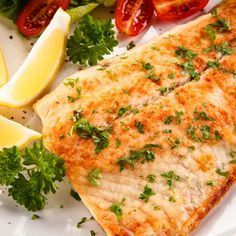 Very good recipe :) Baked Flounder Fillets in Lemon-Soy Vinaigrette