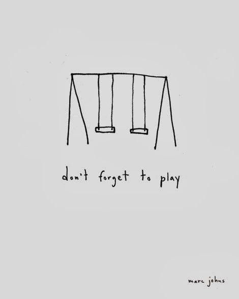 #Too true: don't forget to play #swing #play #beac…