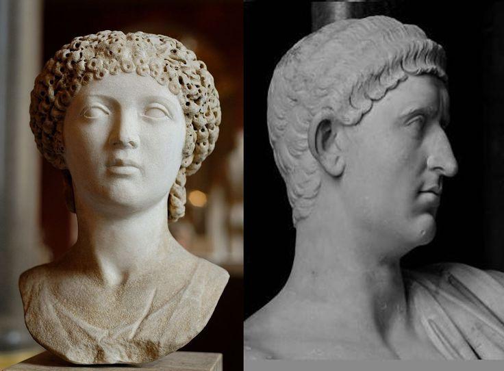 Despues de la muerte de Nerón, siguió como emperador Romano Silvio Otón (izq), gran amigo de Nerón, el cual tambien estaba enamorado de Esporo (Der), por su increible belleza fisica femenina y por su gran parecido a Popea Sabina.  También tuvo un boda fastuosa con Esporo y promulgó una ley donde se le daba a Esporo el nombre de Popea.  Otón se suicida al perder una batalla y Esporo pasa a ser posesión de otro Emperador, Vitelio