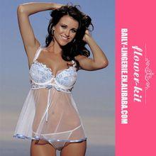 Proper price hot selling transparent plus size lingerie for fat women