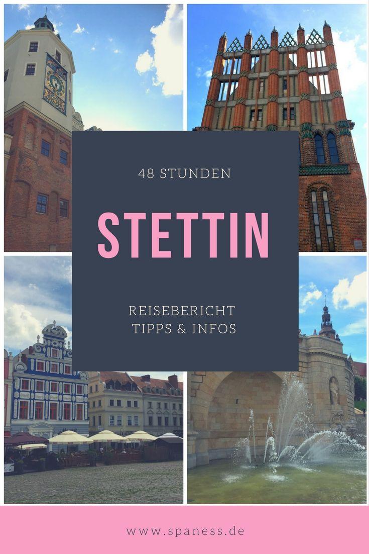 Polen Reiseziele - Station in Stettin Citytrip // Stettin Kurztrip // 48 Stunden Stettin Polen - Tipps, Infos & Ideen