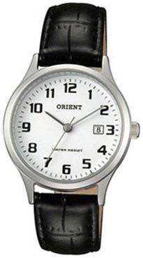 reloj orient funa1004w/b fondo blanconegro acero cuero wr
