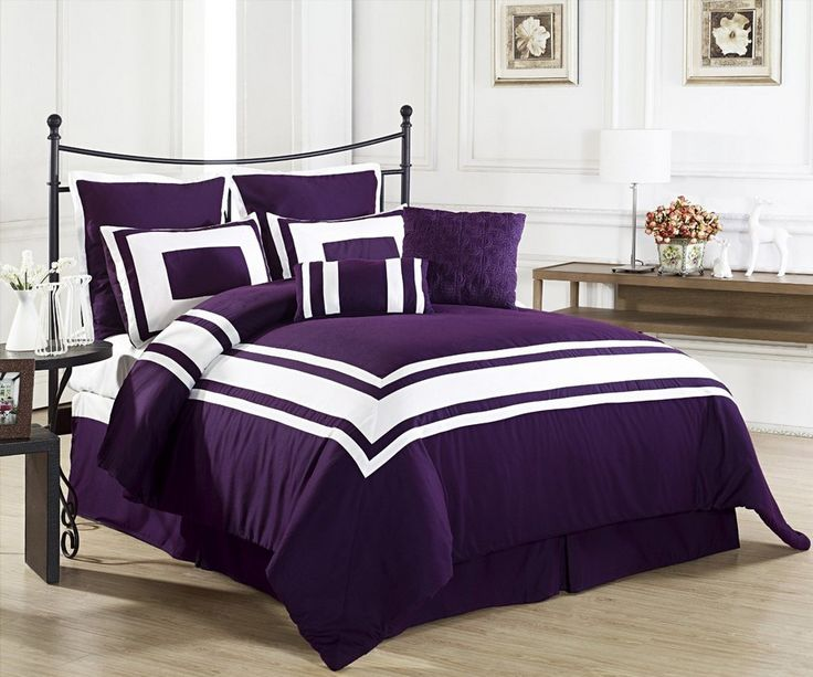 25 best ideas about purple bedding sets on pinterest 12971 | 673dc9ac55d22043c45397201e2600c4 purple master bedroom purple bedroom design