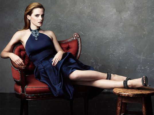 """We don't support slave labor in this country, so we shouldn't support those conditions in other countries,"" Watson said. ""I can't wrap my h...  http://www.ecouterre.com/emma-watson-models-net-a-porters-green-carpet-challenge-collection/"