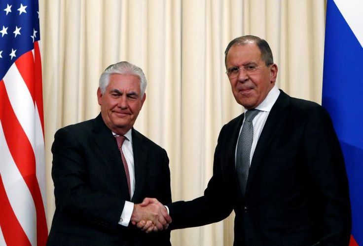 #world #news  Russia and USA, after Tillerson talks, agree modest steps to mend ties
