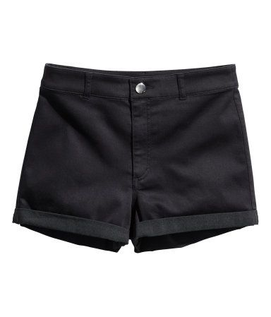 HIgh waisted shorts | H&M US