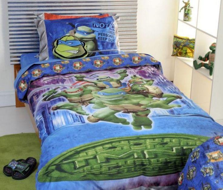 Boy Bedding Sets | TMNT Teen Boy Bedding Sets