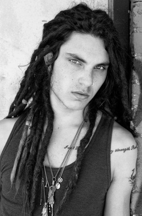 Samuel Larsen- love this guy on glee; sweet guy, dreads & tats= awesome