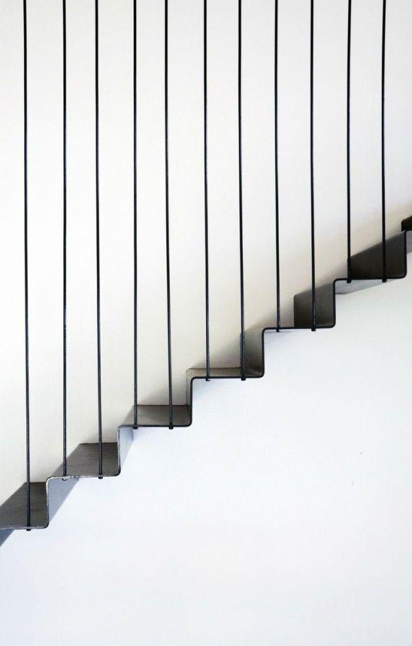 21 best images about rampe d 39 escalier on pinterest steel - Point de saignee ...