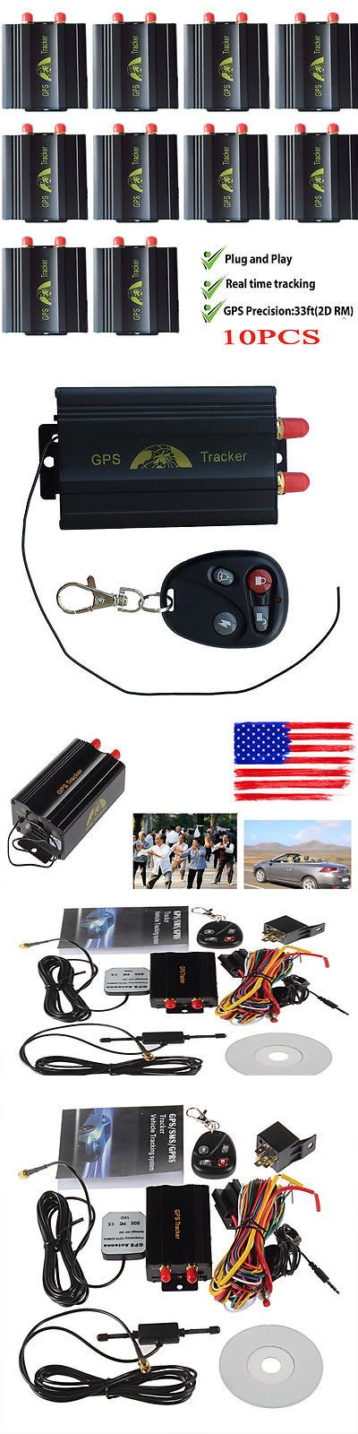 Other Vintage Electronics: 10X Car Gps103-A Gps Tracker Vehicle Tracking System Support Both Gps And Lbs L8 V BUY IT NOW ONLY: $239.87