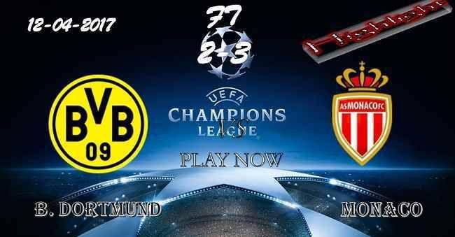 B. Dortmund 2 - 3 Monaco HIGHLIGHTS 11.04.2017