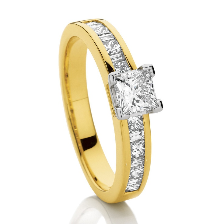 Canadian Fire 1ct Diamond Engagement Ring.  $5499