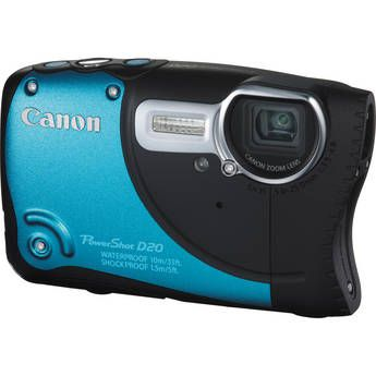 ★★★ New Arrival - Canon PowerShot D20 Digital Camera ★★★ Weatherproof! Shockproof!