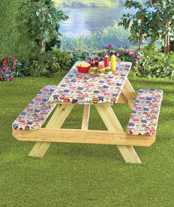 Best 25 Picnic Table Covers Ideas On Pinterest  Picnic Table Delectable Dining Room Table Covers Protection 2018