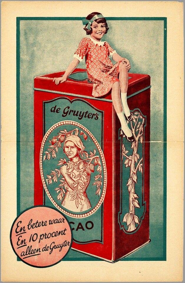 Grootgrutter De Gruyter; boodschappen doen met moeders; dan kreeg je 'het snoepje van de week'!