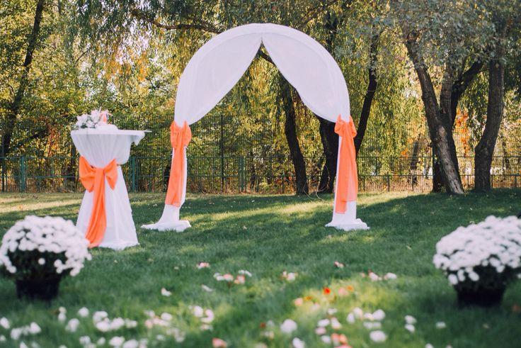 Арка для свадебной церемонии  Archway for wedding ceremony