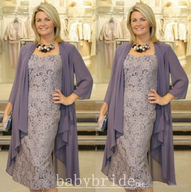 Police Officer Mom Plus Size Mother Of Groom/Bride Dress 2015 Cheap In Stock Vintage Lace Formal Dress Free Chiffon Jacket Sheath Knee Length Mother Suits The Doctors Mom From Babybride, $55.5| Dhgate.Com