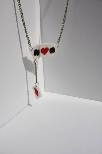 Necklace cards, made out of fimo clay, #MyFimi