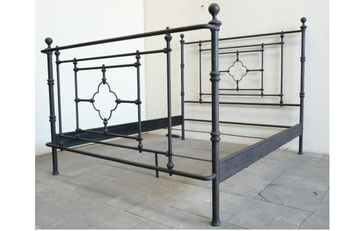 Vintage metal bed frame
