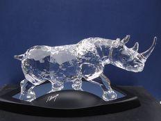 Swarovski - pieza estrella, El rinoceronte