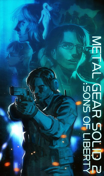 Metal Gear Solid 2: Sons Of Liberty Poster Fan Art
