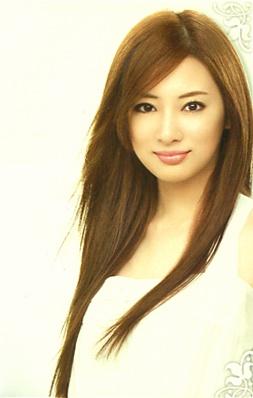 Kanebo SALA hair cair mousse. model: Keiko Kitagawa (Japanese actress).