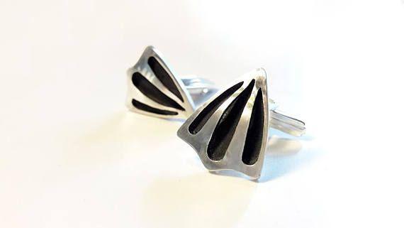 Silver Cuff Links Cuff Links Shield Cufflinks Silver