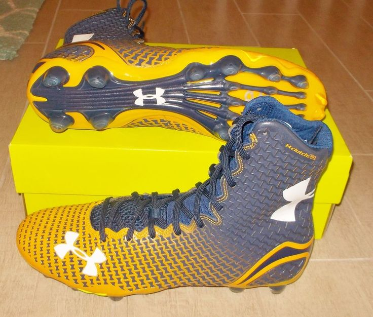 NEW UNDER ARMOUR UA HIGHLIGHT MC Football Cleats CAM NEWTON $130 NIB #UnderArmour #FootballCleats